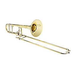 S.E. SHIRES Custom 7YM Tenor Trombone with Axial-Flow F Attachment (Shires Custom-7YM)