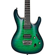 Ibanez S Prestige S6521Q 6 string Electric Guitar