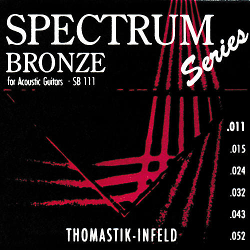 Thomastik SB111 Spectrum Bronze Acoustic Strings Light