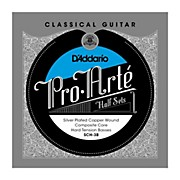 D'Addario SCH-3B Pro-Arte Hard Tension Classical Guitar Strings Half Set