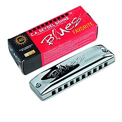SEYDEL Blues Favorite Harmonica (15201HA)