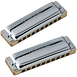 SEYDEL Set of  7 - Blues 1847 CLASSIC Harmonicas and Softcase (16516)