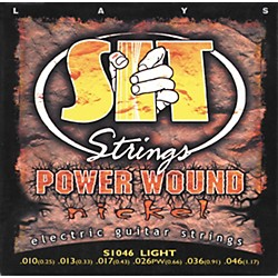 SIT Strings S1046 Power Nickel Electric Guitar Strings (S-1046)