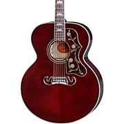 Gibson SJ-200 Wine Red Acoustic-Electric Guitar