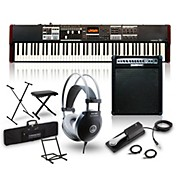 Hammond SK1-88 88-Key Digital Stage Keyboard and Organ with Keyboard Amp, Stand, Headphones, Bench & Sustain Pedal