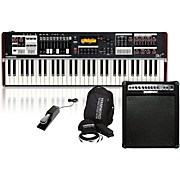 Hammond SK1 Stage Keyboard with Accessory Pack, Keyboard Amplifier, and Sustain Pedal