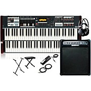 Hammond SK2 Organ with Keyboard Amplifier, Stand, Headphones, Bench, and Sustain Pedal