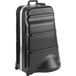 SKB 385W Mid-SizeD Universal Tuba Case with Wheels (1SKB-385W)