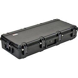 SKB Injection Molded Waterproof Acoustic Guitar Case w/ Wheels (3i-4217-18)