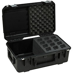 SKB iSeries Injection Molded Case For 12 Microphones (3I-2011-MC12)