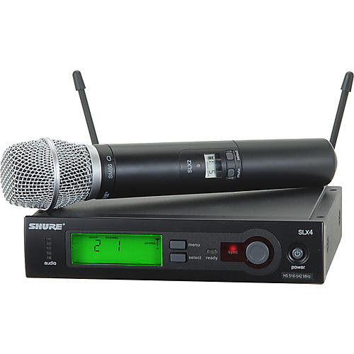 Shure SLX24/SM86 Wireless Microphone System Band G4