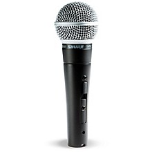 Shure SM58S Mic with Switch