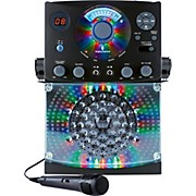 The Singing Machine SML385BT Top Loading CDG Player with Disco Light Effect and Bluetooth