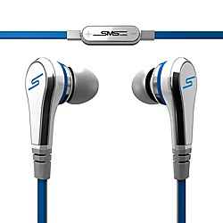 SMS Audio STREET by 50 Wired Earbuds (SMS-EB-WHT)
