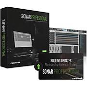 Cakewalk SONAR Professional Rolling Updates Membership Renewal (1 year)