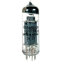 SOVTEK EL84 Matched Power Tubes (EL84SOV-PL-QD-g)