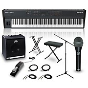 Kurzweil SP4-8 88-Key Complete Stage Piano Package