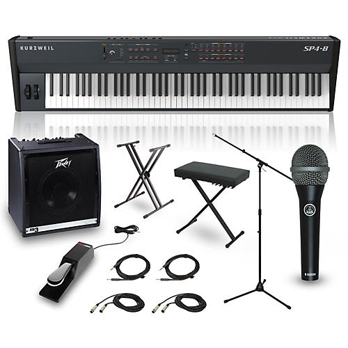 Kurzweil SP4-8 88-Key Complete Stage Piano Package-thumbnail