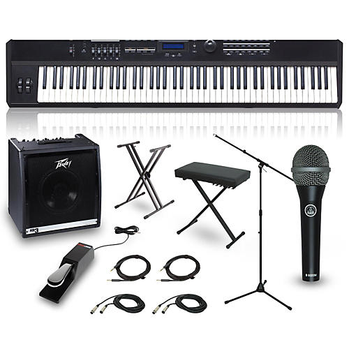 Kurzweil SP5-8 88-Key Complete Stage Piano Package-thumbnail