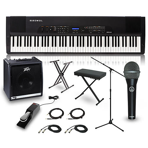 Kurzweil SPS4-8 88-Key Complete Stage Piano Package-thumbnail