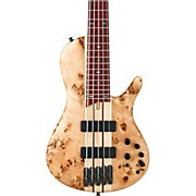 Ibanez SR Standard Series SR805 5-String Electric Bass Natural Flat