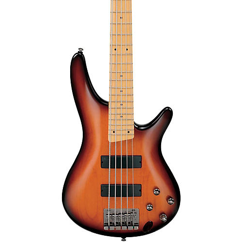 Ibanez SR375MBBT 5-String Electric Bass Guitar