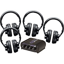Shure SRH440 Four Pack w/ HeadAMP 4 Headphone Amp