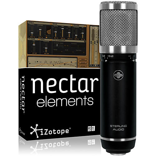 Sterling Audio ST59 Mic with Nectar Elements Bundle-thumbnail