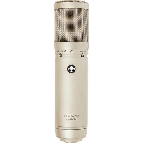 Sterling Audio ST66 Large Diaphragm Tube Condenser Microphone-thumbnail