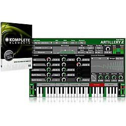 SUGAR BYTES Artillery II with Komplete Elements Bundle (SBA-KOMPE)