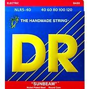 DR Strings SUNBEAM  Nickel Plated 5-String Bass Strings Lite (40-120)