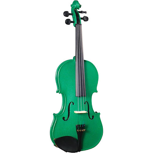 Cremona SV-130GN Series Sparkling Green Violin Outfit 4/4 Size