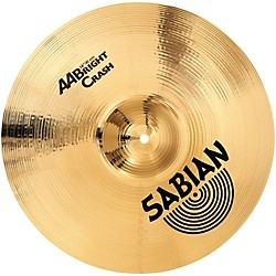 Sabian AA Bright Crash Brilliant Finish (21637B)