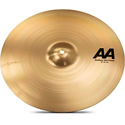 Sabian AA Medium Thin Crash Cymbal Brilliant (21607B)