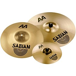 "Sabian AA Metal Crash Pack with free 10"" AA Metal Splash (25002MXMF1)"