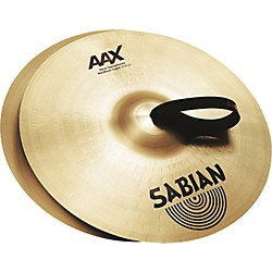 Sabian AAX New Symphonic Medium Light Cymbal Pair (22156X_33378)