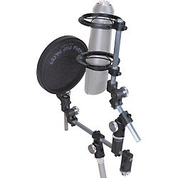 Sabra Som Universal Microphone Shockmount with Pop Filter (SPK)