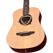 Luna Guitars Safari Dolphin 3/4 Size Travel Acoustic Guitar