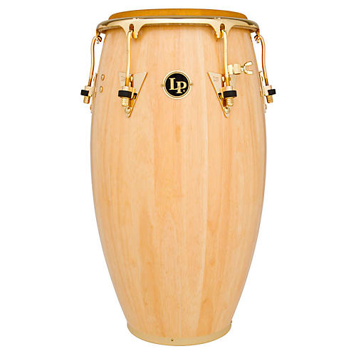 LP Salsa Conga Natural with Gold Hardware 11 in.