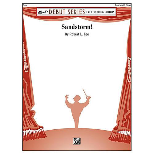 Alfred Sandstorm! Concert Band Grade 1 Set-thumbnail
