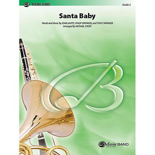 Alfred Santa Baby Concert Band Grade 2 Set-thumbnail