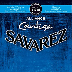Savarez 510AJ Alliance Cantiga High Tension Guitar Strings (50355)