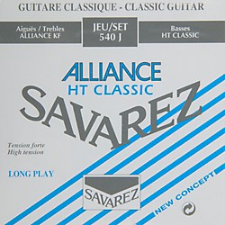 Savarez S540J Super High Tension Classic Guitar Strings (S540J)