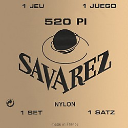 Savarez Traditional 520P1 High Tension Classical Guitar Strings (520P1)