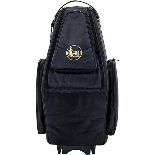 Gard Saxophone Wheelie Bag in Synthetic with Leather Trim-thumbnail