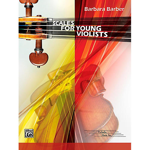 Alfred Scales for Young Violists Book-thumbnail
