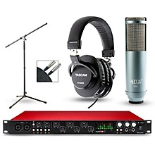 Focusrite Scarlett 18i20 Recording Package with R80 Ribbon Microphone and TH-200X Headphones