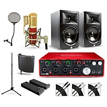 Focusrite Scarlett 18i8 Recording Package with MXL Genesis and JBL LSR308 Pair