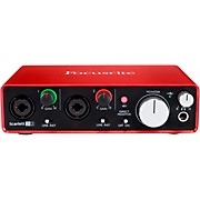 Focusrite Scarlett 2i2 (2nd Generation) USB Audio Interface
