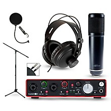 Focusrite Scarlett 2i4 Recording Package with Sterling ST51 and CAD MH300